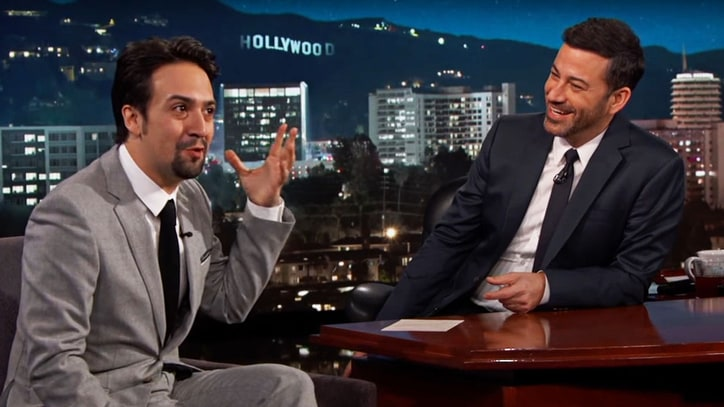 Watch Lin-Manuel Miranda Talk Mexico's Trump Reaction on 'Kimmel'