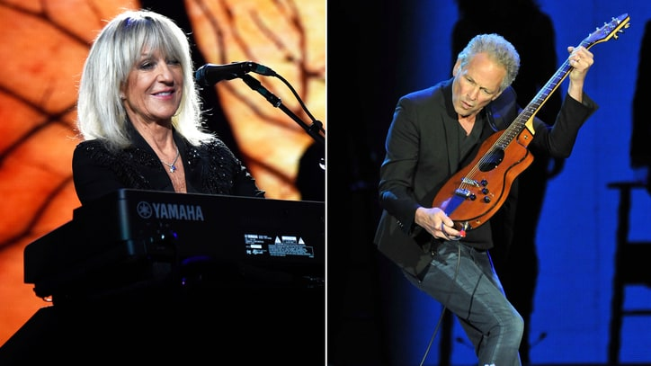 Hear Lindsey Buckingham, Christine McVie's Wistful New Song 'In My World'