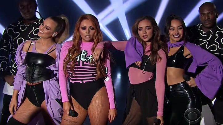 Watch Little Mix Perform Sleek 'Touch' on 'Corden'