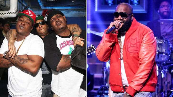 Hear the Lox, Rick Ross' Gritty New Song 'Feel My Pain'