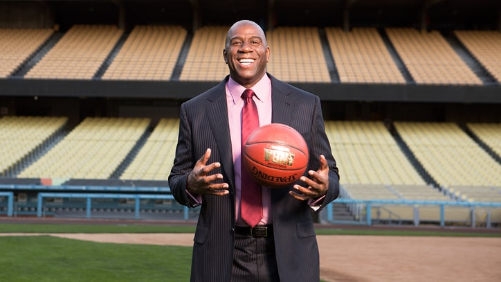 Magic Johnson Takes Over as Los Angeles Lakers President