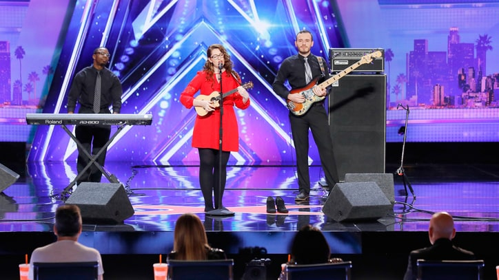 'America's Got Talent': Watch Deaf Contestant's Stunning Performance