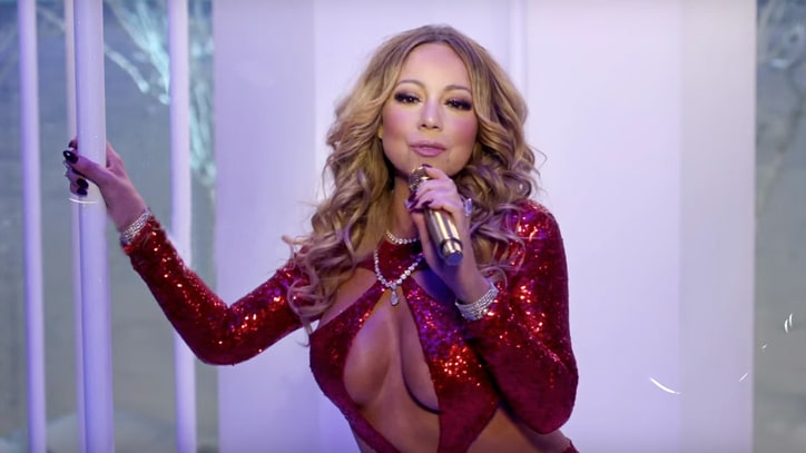 Mariah Carey Unveils Festive New 'Here Comes Santa Claus' Video