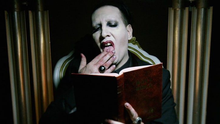 Watch Marilyn Manson's Brutal, Trump-Inspired 'Say10' Video