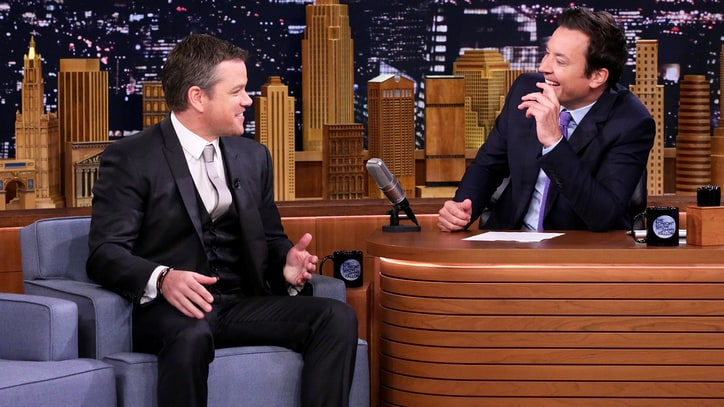 Hear Matt Damon's Classic Prince Story on 'Fallon'