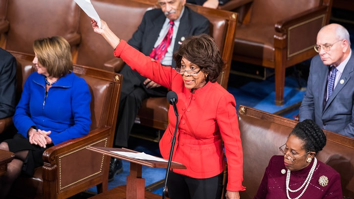 Maxine Waters Talks Impeaching Trump, and Why She Has Hope