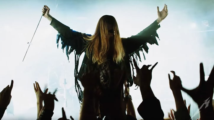 Watch Metallica's Bloody, Black Metal-Channeling 'ManUNkind' Video
