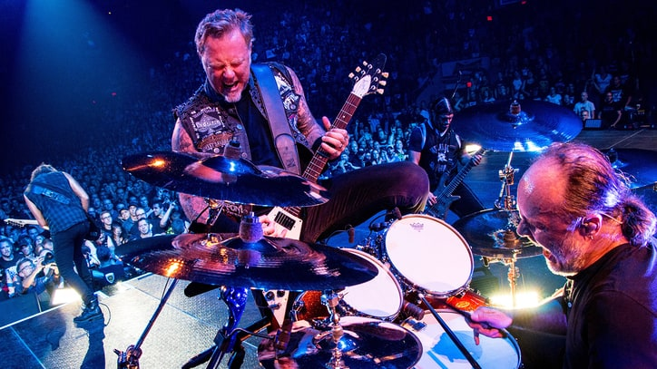 Metallica Unveil Punishing New 'Hardwired' Song 'Atlas, Rise!'