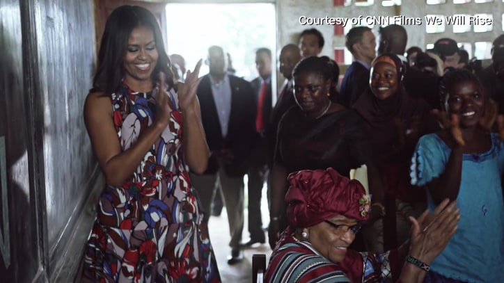 Michelle Obama, African Girls Talk Education in Inspiring 'We Will Rise' Clip