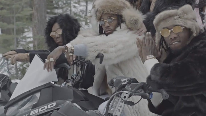 Watch Migos Head to the Mountains for New 'T-Shirt' Video