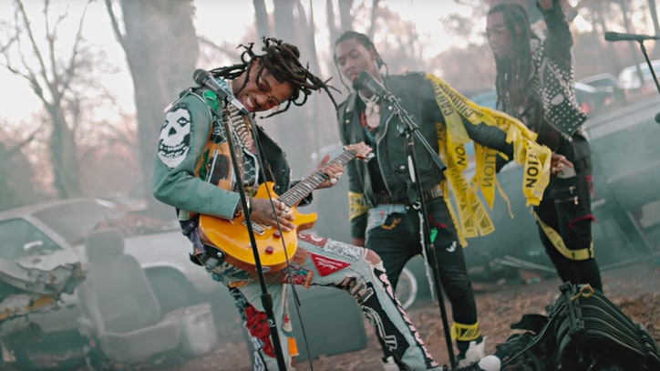 Watch Migos Brawl With Bikers in Epic 'What the Price' Video