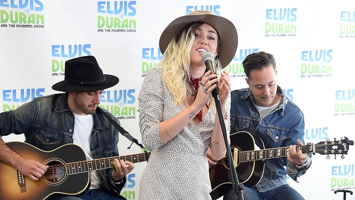 Watch Miley Cyrus' Stripped-Down 'Malibu' Performance