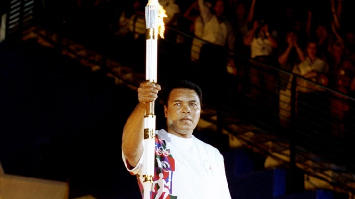 Flashback: Muhammad Ali Lights the Olympic Torch in 1996