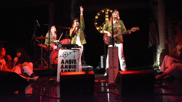 Watch Nice as F--k's Anti-Gun, Sixties-Inspired 'Colbert' Performance