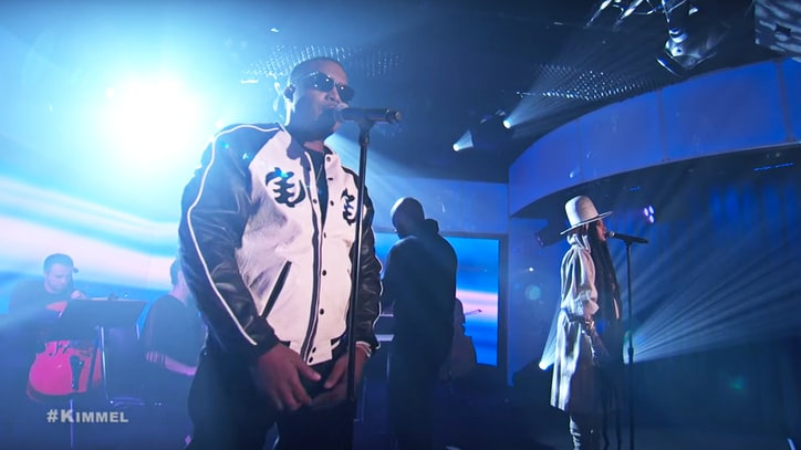 Watch Nas, Erykah Badu's Powerful 'This Bitter Land' on 'Kimmel'