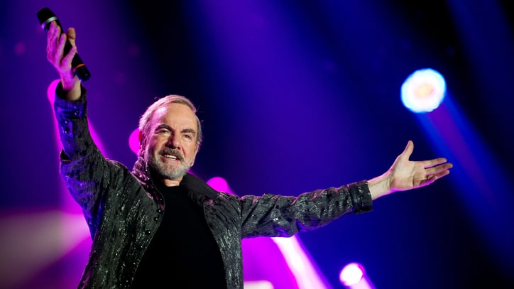 Neil Diamond Talks 50th Anniversary Tour, New Christmas LP