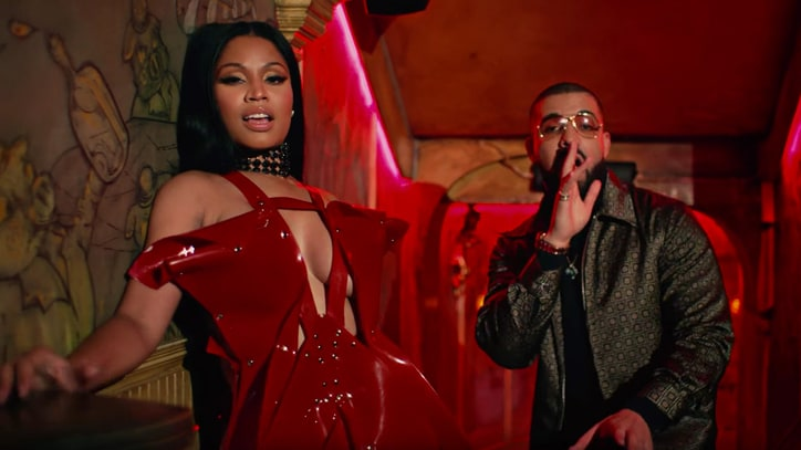 Watch Nicki Minaj's Regal 'No Frauds' Video With Lil Wayne, Drake