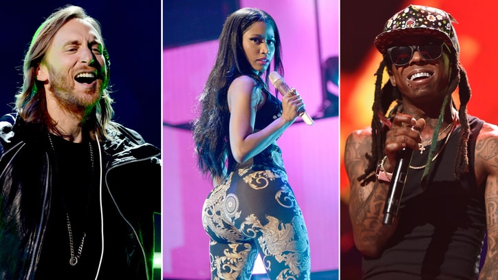 Hear Nicki Minaj, David Guetta, Lil Wayne's Sexy New Song 'Light My Body Up'