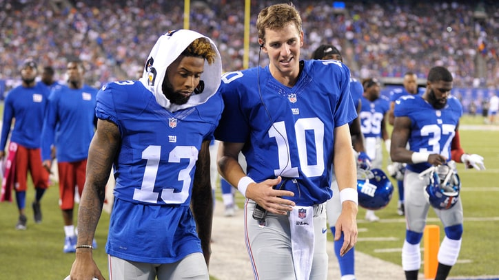 What's Wrong With Odell Beckham Jr.? Eli Manning Thinks He Knows