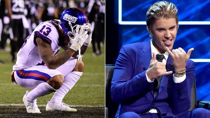 Did Odell Beckham Jr. Hanging With Justin Bieber Curse New York Giants?