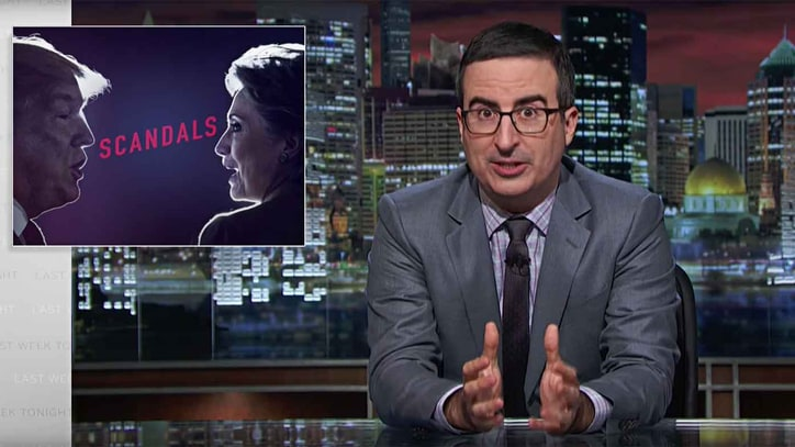 Watch John Oliver Compare Donald Trump to 'Disgusting' Raisin Cookies
