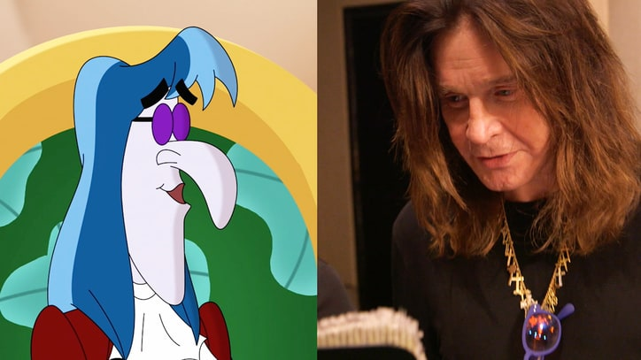 See Ozzy Osbourne Record Metal Voiceover for Disney Cartoon