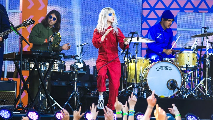 See Paramore's Frenetic Open-Air Performance of 'Hard Times' on 'Kimmel'
