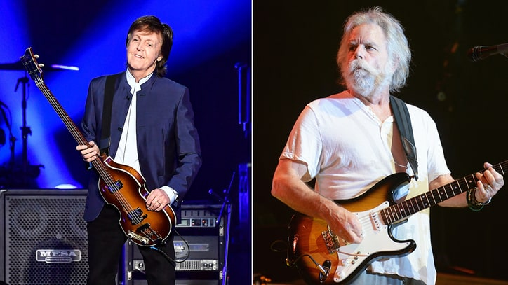 Watch Paul McCartney, Bob Weir Perform Together in Boston