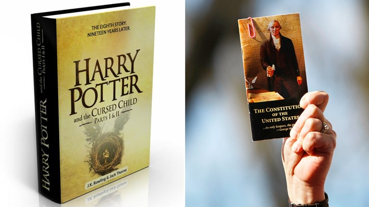 Harry Potter 'Cursed Child' Tied With U.S. Constitution on Amazon
