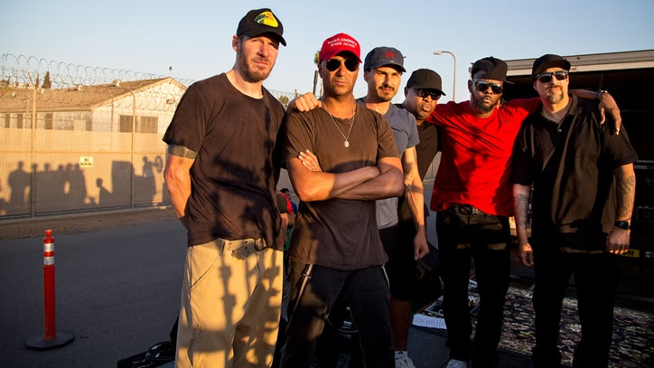 Watch Prophets of Rage Play Surprise Set Outside California Prison