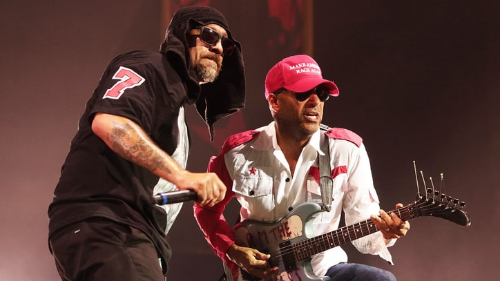 Hear Prophets of Rage's Funky New Song 'The Party's Over'