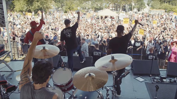 See Prophets of Rage Call for Change in Turbulent Debut Video