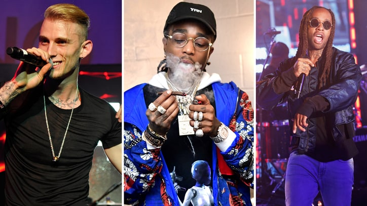 Hear Machine Gun Kelly, Quavo, Ty Dolla $ign's Enticing New Song 'Trap Paris'