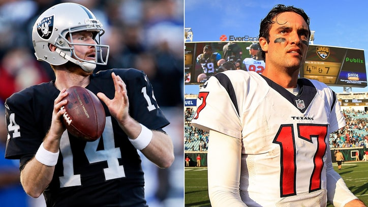 Why Raiders, Texans Is Worst Playoff QB Matchup in Wild Card History