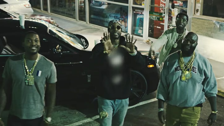 See Rick Ross, 2 Chainz, Gucci Mane Claim Territory in New Video