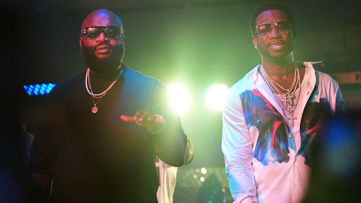 Hear Rick Ross, Gucci Mane on Boastful New Song 'She On My Dick'