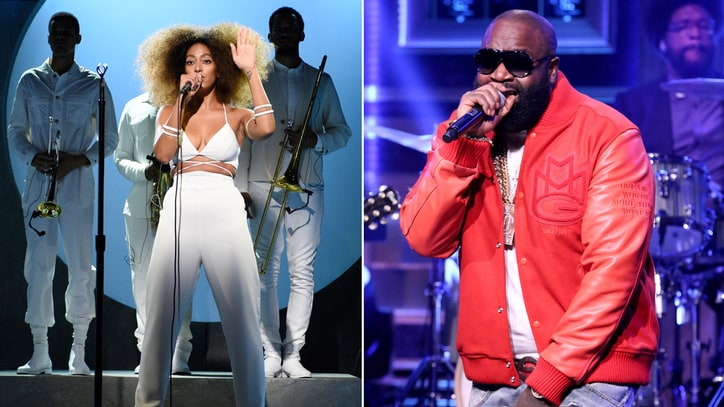 Hear Rick Ross' Boastful Remix of Solange's 'Cranes in the Sky'