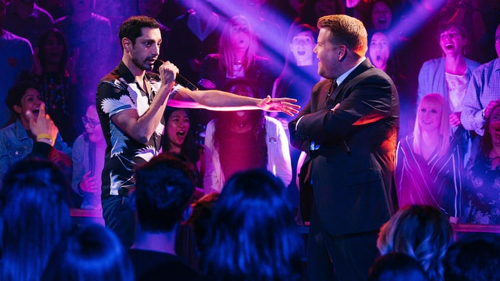 Watch James Corden Call Riz Ahmed 'World's Worst Version of Will Smith'