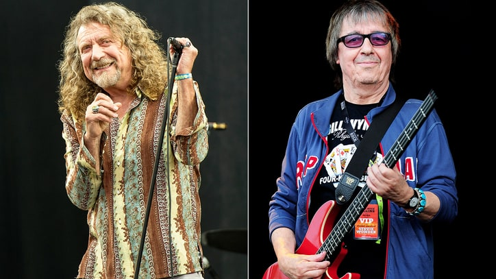 Robert Plant to Play Bill Wyman's 80th Birthday Bash in London