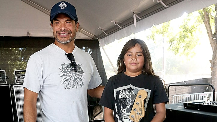 Watch Metallica Bassist Robert Trujillo's 12-Year-Old Son Join Korn on Tour