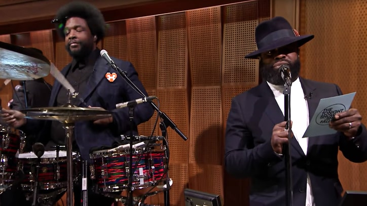 Watch the Roots' Frank Sinatra-Inspired Freestyle on 'Fallon'