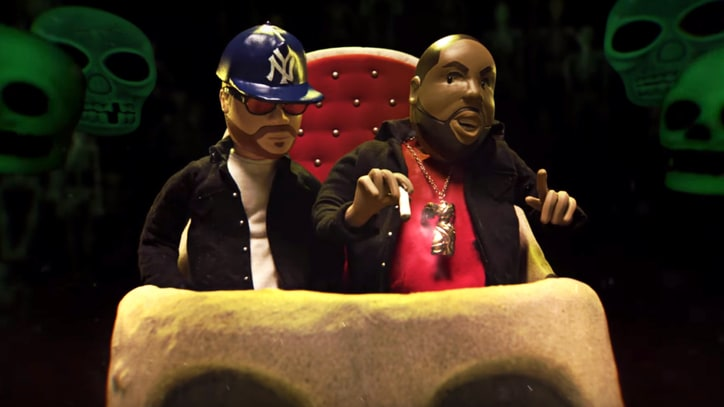 See Run the Jewels as Claymation Rappers in Grim 'Don't Get Captured' Video