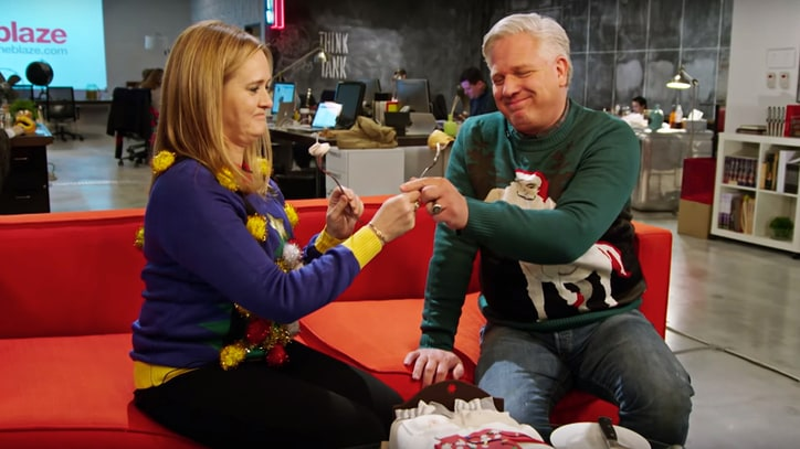 Watch Samantha Bee, Glenn Beck Eat Each Others' Heads on 'Full Frontal'