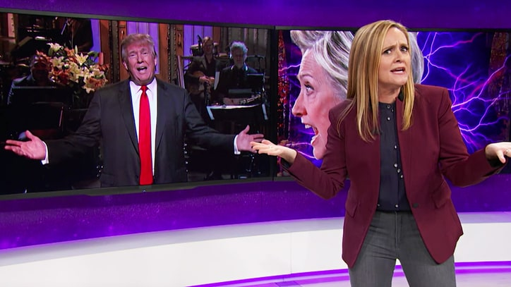 Watch Samantha Bee Blast NBC, Fallon for Coddling Donald Trump
