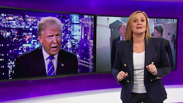 Watch Samantha Bee's Epic Trump Takedown Over 2005 Video