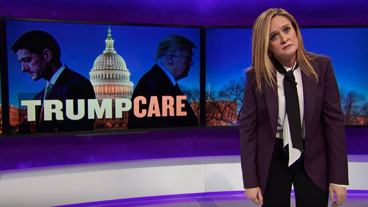 Watch Samantha Bee Compare 'Trumpcare' Fail to Atlanta Falcons