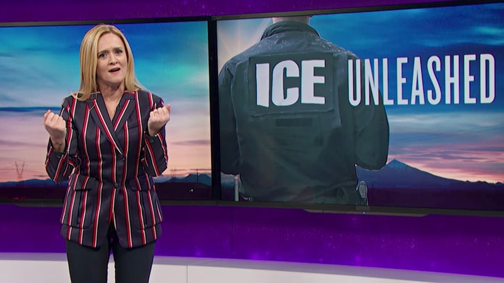 Watch Samantha Bee Rip Trump's Inhumane Immigration Policy