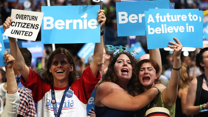 Bernie or Bust: Meet the Emotional Sanders Supporters Booing the DNC