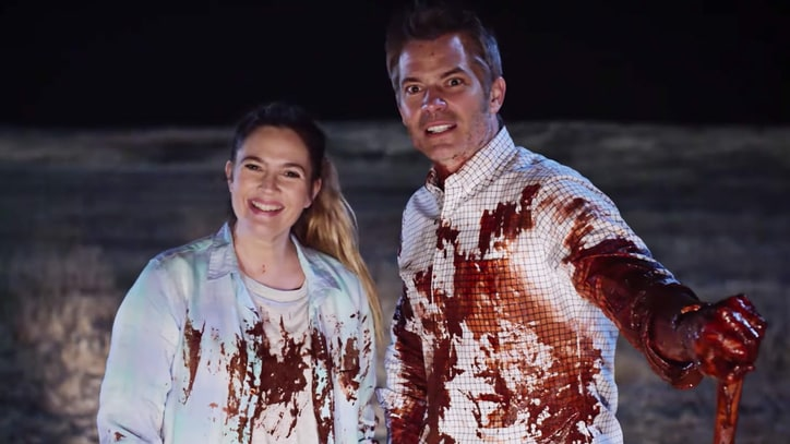 See Drew Barrymore Fillet Neighbors in Bloody 'Santa Clarita Diet' Trailer