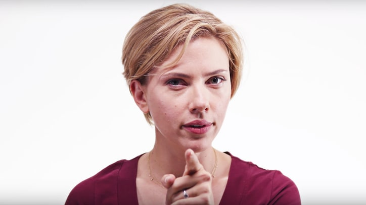 Watch Scarlett Johansson, Robert Downey Jr. Urge All to 'Vote Tomorrow'